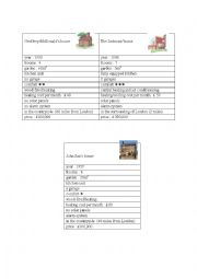 English Worksheet: comparing people and items