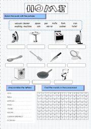 English Worksheets: Everyday use items