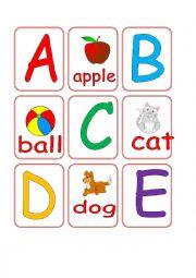 Alphabet Match Cards 1/2