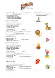 Katy Perry - Roar (song activities)