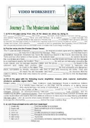 english worksheets journey 2 the mysterious island. Black Bedroom Furniture Sets. Home Design Ideas