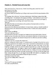 English Worksheet: Lord of the Flies Jack�s Mask