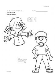 kinder Boy and Girl