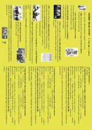 English Worksheet: Northern Ireland history