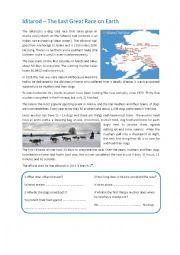 English Worksheet: Iditarod