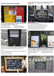 SIGNS AND NOTICES #6 (10 photos on 2 pages)
