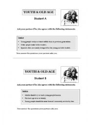 English Worksheet: Intermediate Oral Interactive Activity