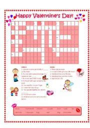 Valentine´s Day Crossword