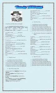 English Worksheet: Show Me (Bruno Mars)