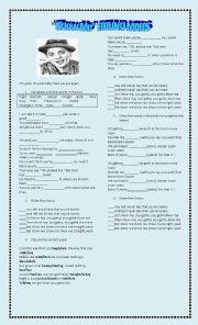 English Worksheet: Show Me (Bruno Mars)