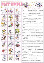 English Worksheet: Past Simple (irregular verbs)