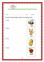 Alphabet & Vocabulary