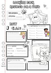 English Worksheet: Looking Back