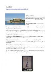 Alcatraz prison video