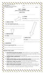 English Worksheet: plot