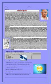 English Worksheet: New headway intermediate units 5-12