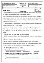 English Worksheet: Full term test 1 7th form