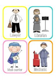 English Worksheet: Jobs / Occupations / Professions SET 3