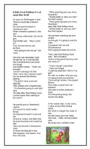 English Worksheet: Poem by Roald Dahl - Reading, Discussing, Reported Speech.
