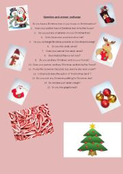 CHRISTMAS´ QUESTIONS AND ANSWERS EXCHANGE 1/2