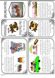 English Worksheet: Phonice Mini Book 16. Long u sound in �ue� and �u_e:� Our Dog Prue and the Barbecue