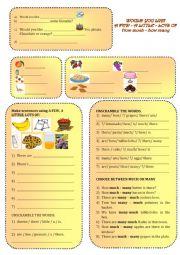 English Worksheet: PICNIC 2