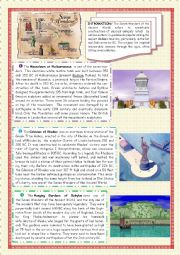 English Worksheet: 7 Wonders of the Ancient World (2)