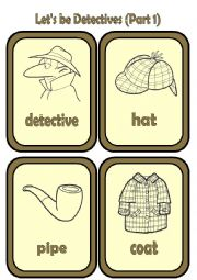 English Worksheet: Let�s be Detectives!