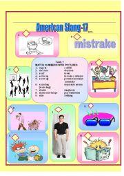 English Worksheet: American Slang-17