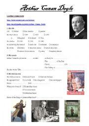 Arthur Conan Doyle webquest