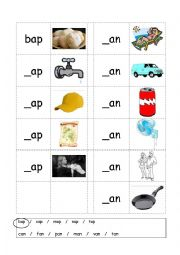 english worksheet phonics 3 letter words cvc writing ap
