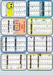 English Worksheet: Irregular verbs - Minibook