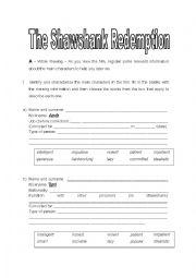 The Shawshank Redemption + present simple - ESL worksheet by ...