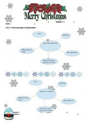 English Worksheet: Christmas Around the World Research Project