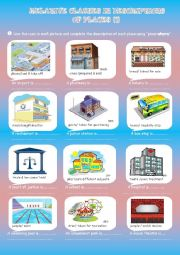 definitions of places with relative clauses part1