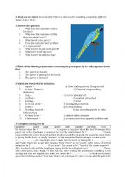 English Worksheet: A dead parrot sketch from Monthy Python