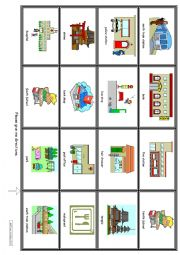 DIRECTIONS - Conversations and maps - Beginner and young learners (streets) 1
