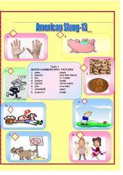 English Worksheet: American Slang-13