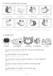 English Worksheet: The Very Greedy Bee 3/3
