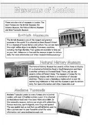 English Worksheet: Window on the United Kingdom (4)