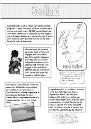 English Worksheet: Window on the United Kingdom (5)
