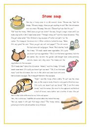 It's just a photo of Nerdy Stone Soup Story Printable