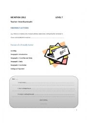 IGCSE Friendly letters and narratives