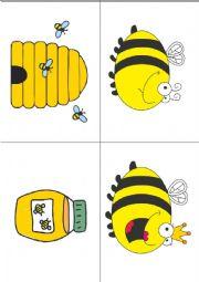 English Worksheet: The Very Greedy Bee