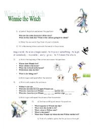 Winnie the Witch (handout for the video)