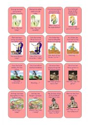 Go Fish: Present perfect continuous and simple 03