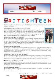 Test - British Teen