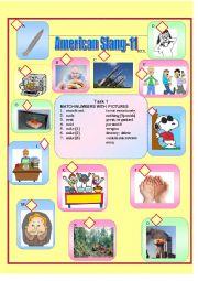 English Worksheet: American Slang-11