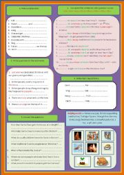 English Worksheet: Christmas time (Question words, making questions,answering the questions...)
