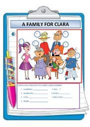A FAMILY FOR CLARA